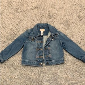 Jean jacket from baby gap size 2t